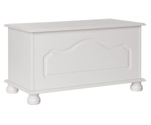 Surrey White Blanket Box