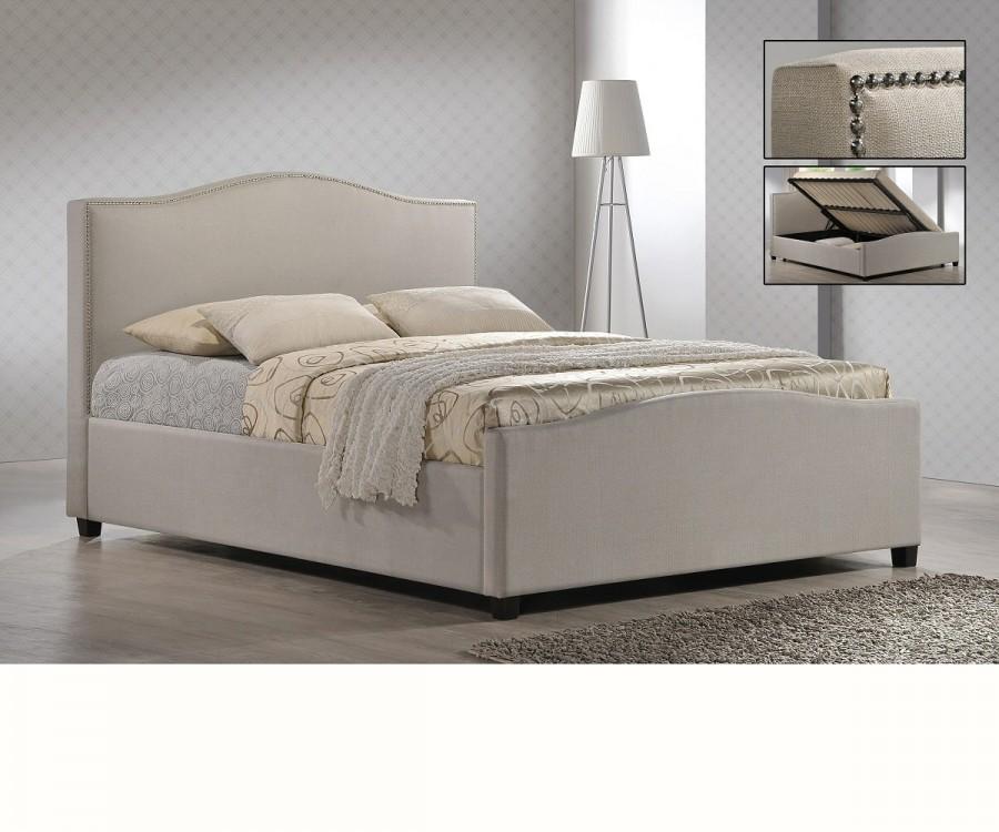 Brunswick Ottoman Fabric Bed Frame