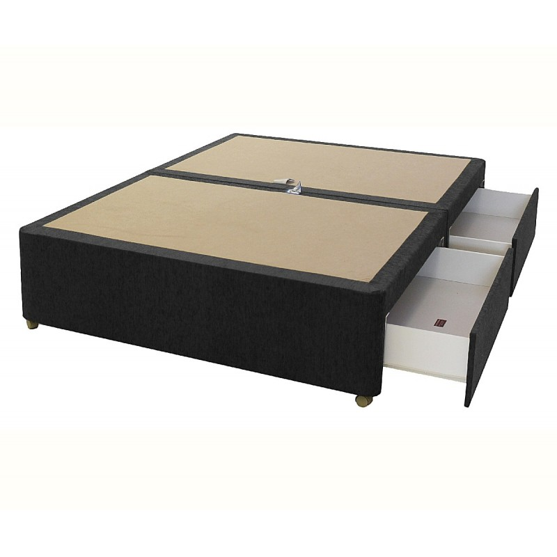 Amber 4 drawer divan base Divan beds base only