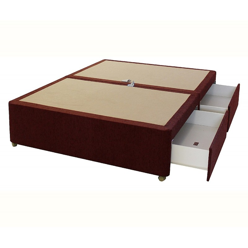 Amber 4 drawer divan base for 4 drawer divan bed sale