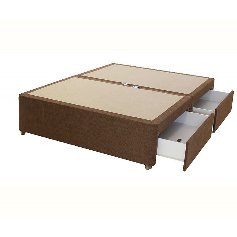 amber 4 drawer divan base