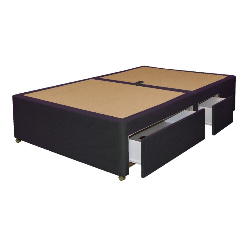 Amber 4 drawer divan base for Divan bed base sale