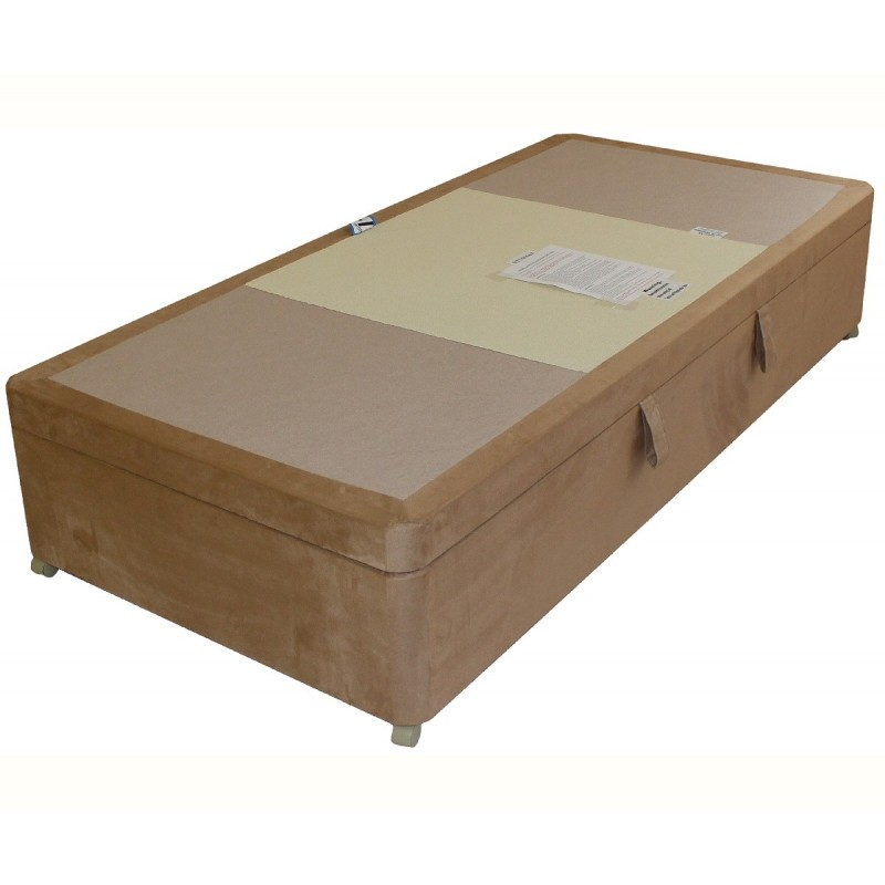 Amber side opening ottoman divan base for Divan bed base sale