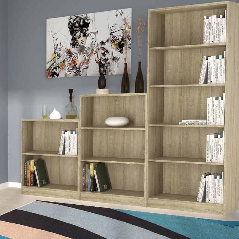 Auckland Low Narrow Bookcase