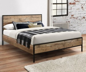 Rustic Urban Bed Frame