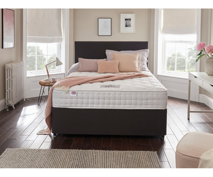 Rest Assured eloquence silk ortho 1400 divan bed