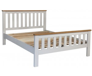 Newark Single Bed Frame - Grey