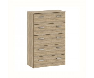 Odense 3 Drawer Chest in Oak Finish
