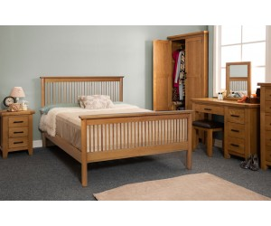 Harrison Wooden Bed Frame