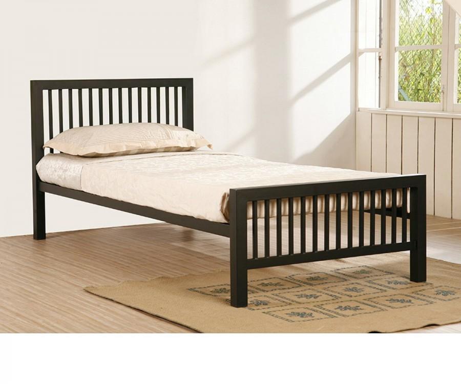 Meridian Black Metal Bed Frame