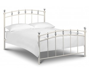 Crystal stone white Bed Frame