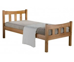 Vancouver Pine Bed Frame - single