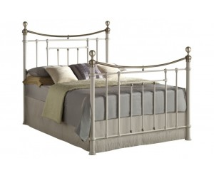 Classic Bed Frame in Ivory