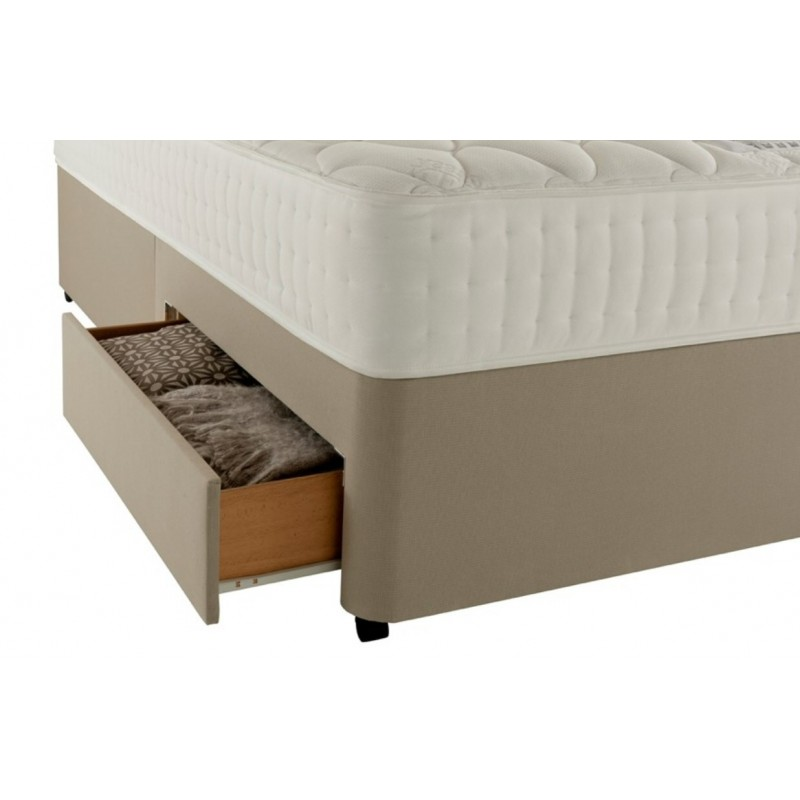 Rest assured memory luxury 800 divan bed for Divan and mattress set