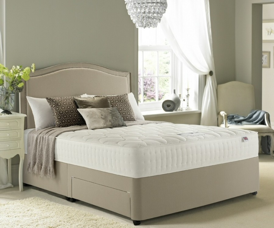 Rest Assured Chester Memory 800 Divan Bed