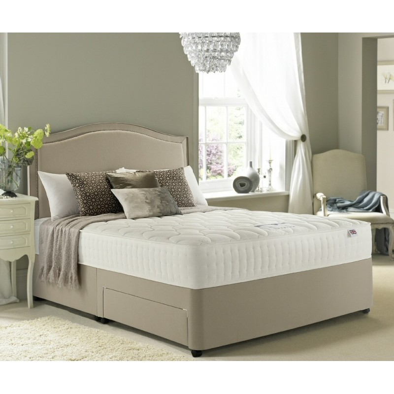 Rest assured memory luxury 800 divan bed for Luxury divan beds