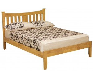 Roulette Oak Effect Bed Frame