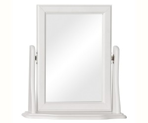 Surrey White Swivel Mirror
