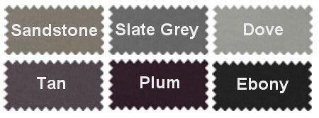 Silentnight Base Fabric Colours