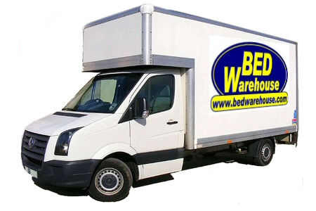 Bed Warehouse delivery van