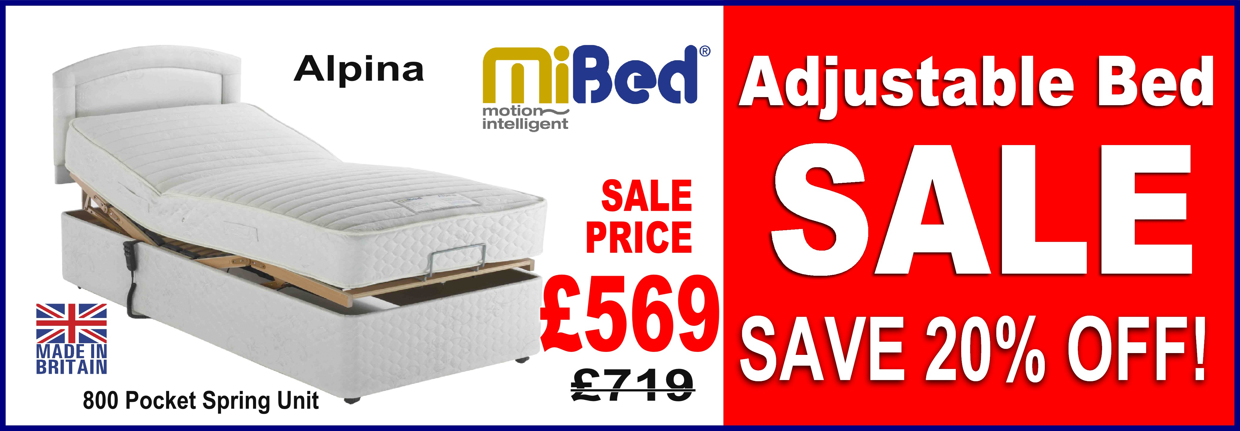 Adjustable bed sale